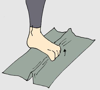 Recoger toalla