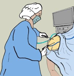 Figura 6. Artroscopia de hombro