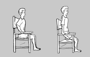 Pulsiones en silla