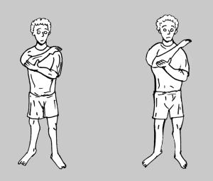 Estiramiento cápsula posterior